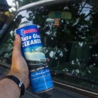 Как очистить лобовое стекло от насекомых?
